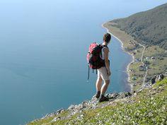 Hiking, Tromso by GuideGunnar - Arctic Norway, via Flickr