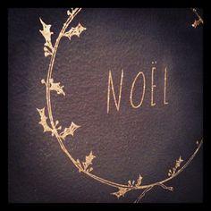 Noel Chalkboard #christmas #camillestyles