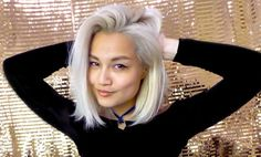 sudden and overwhelming urge to go platinum blonde...