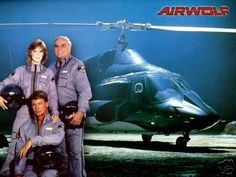 Airwolf- stealth helicopters and whoopin a** on bad guys.  That was before it was uncool to watch because the star started whoopin up on women.