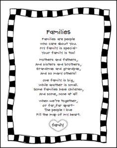 family project printables
