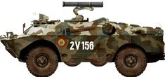 This amphibious reconnaissance vehicle kept the belly roadhweels config. Model Tanks, Armored Fighting Vehicle, Modern Warfare, Armored Vehicles, Apc, Eastern Europe, Military Vehicles, Weapons Guns, Research