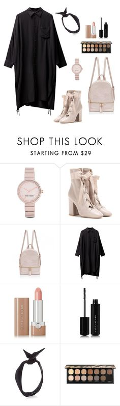 """""""Untitled #269"""" by bajka2468 ❤ liked on Polyvore featuring Nine West, Valentino, Marc Jacobs, yunotme and Bare Escentuals"""