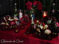 Frutas para Ciganos - Oferenda de Orixá