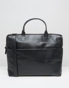 Royal RepubliQ Courier Single Leather Satchel In Black