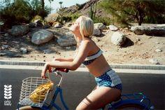 Hannah Holman by Lina Scheynius for Orla Kiely Spring Summer 2013 3