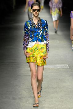 Runway #TBT: Dries Van Noten's 2008 Take on Timeless Summer Style - Gallery - Style.com