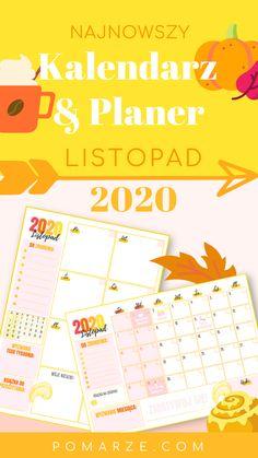 Najnowszy kalendarz na przedostatni 🤭❓ miesiąc tego roku - 𝐋𝐢𝐬𝐭𝐨𝐩𝐚𝐝! Tym razem motywem przewodnim są... 🌰🍁 Kolory jesieni 🎃🍂 📌 Będziesz na bieżąco z najważniejszymi świętami 📅 w roku 📌 Zanotujesz zadania do wykonania na każdy dzień 📌 Sporządzisz 'TO DO LIST'🗒 na cały miesiąc (albo bardziej szczegółowo z planerem tygodniowym) 📌 Planer zachęci cię do robienia WIĘCEJ każdego dnia! Na przykład do rozpoczęcia nowego wyzwania 🤸♂ i monitorowania swojego progresu ✅ 📌 Już nie… Bullet Journal