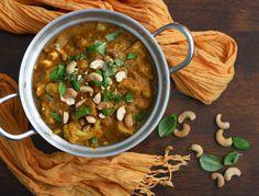 Kermainen kookos-cashwe-curry