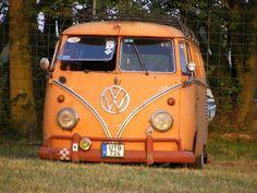 Orange VW Bus ~