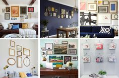 Read these step-by-step instructions below to find out how to hang a gallery wall the right way (and avoid messy mistakes).