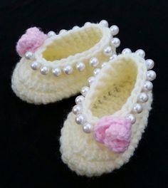 девочку крючком обувь балетки детские балетки туфли детские девочка туфли элегантный ручной работы подарок ребенку фото prop слоновая кость розовый жемчуг