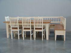 Rohové jídelní lavice do chalupy | Chatař & Chalupář