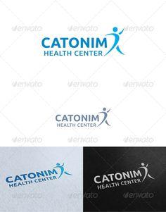 Catonim Health Center Logo Template — Photoshop PSD #human #society • Available here → https://graphicriver.net/item/catonim-health-center-logo-template/2540473?ref=pxcr
