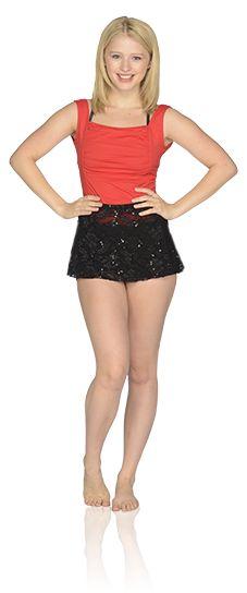 """Alexandra Beaton as Emily on """"The Next Step"""""""