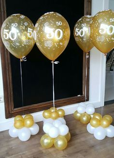✩ Check out this list of creative present ideas for tennis players and lovers Anniversary Plans, Golden Anniversary, 50th Wedding Anniversary Decorations, Anniversary Parties, Ballon Decorations, Birthday Decorations, 50th Birthday Party, Birthday Woman, Gold Wedding
