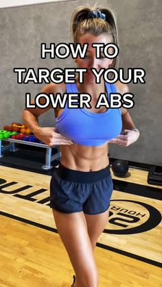 Fitness Workouts, Gym Workout Tips, Fitness Workout For Women, Sport Fitness, Workout Challenge, Flat Abs Workout, Workout Videos, At Home Workouts, Fitness Tips