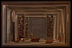Werther - A set model for Richard Eyre's production