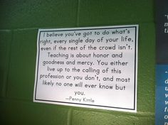 My new favorite quote--by Penny Kittle