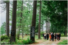 Outdoor Wooded Wedding! Bridgton, Maine Wedding Photography Tarry-A-While Resort // I AM SARAH V  Photography