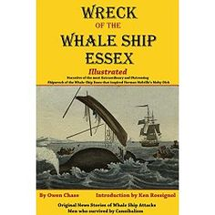 In one of the most spellbinding accounts of men who go down to the sea in ships, the modern reader is given a seat in the whale boat of Owen Chase as he and his fellow crew and their Captain make way in three boats after the wreckage of the Whaleship Essex.  The account of how the Essex was wrecked inspired the infamous book Moby Dick and countless movies, including the newest, In the Heart of the Sea....