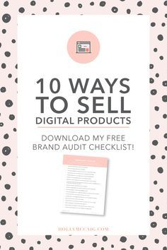 Creating passive income, digital products you can sell, can significantly benefit your business. Learn 10 ways to sell digital products now! Creative Business, Business Tips, Online Business, Craft Business, Business Design, Make Money Blogging, Make Money Online, How To Make Money, Digital Marketing