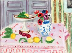 The Pink Tablecloth Henri Matisse - 1925