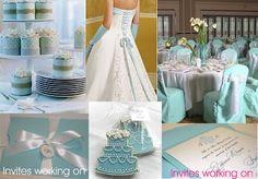 Pool blue wedding ideas :)