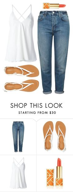 """""""#116"""" by paugarza002 on Polyvore featuring moda, Topshop, Aéropostale, Dondup y Tory Burch"""