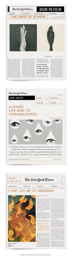 New York Times Book Review | Yasmin Malki | #Editorial #Design