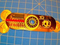 http://www.instructables.com/id/Programmable-POV-Fidget-Spinner