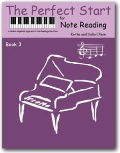 The Perfect Start for Piano | Note Naming Sheets | Book Three - 6 individual units