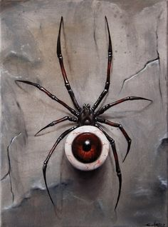 surreal art 40 of Million Reasons Why I Love Surrealism Art Foto Fantasy, Dark Fantasy, Fantasy Art, Spider Drawing, Spider Art, Eyeball Drawing, Art Macabre, Art Sinistre, Arte Sketchbook