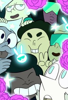 Steven Universe, Humans, and The Crystal Gems Selfie Steven Universe Personajes, Steven Universe Funny, Steven Univese, Fanart, Cartoon Network Shows, Universe Art, Star Vs The Forces Of Evil, Force Of Evil, Peace And Love