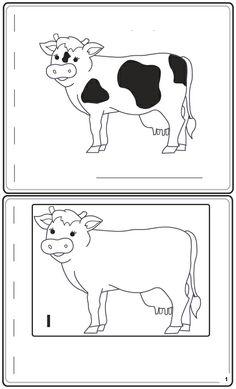 Werkblad cijfers: cijferboekje koe