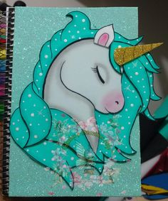 Unicorn birthday, unicorn party, foam crafts, diy crafts, crafts for kids. Foam Crafts, Diy And Crafts, Crafts For Kids, Paper Crafts, Unicorn Crafts, Unicorn Art, Unicorn Pictures, Unicorn Baby Shower, Cute School Supplies