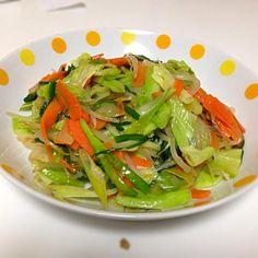 あ、味が・( ´д`ll)の( ´д`ll) - 4件のもぐもぐ - 野菜炒め by Kaori
