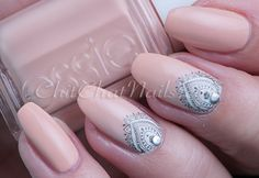 An Uber High Class Affair  Nail art by Uber Chic Beauty Stamps, who knew nail stamping could be so easy and look fantastic! I love nail stamps for all ages! Easiest Nail Art Ever! Perfect for your next manicure!