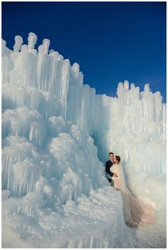 Midway Ice Castle Wedding Photography