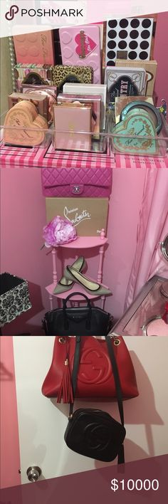🌸Some additional pics of closet 🌸 Adding more pics of closet let me know if you see anything maybe I will trade or sell 💐💐🌸💕💕 Louis Vuitton Bags