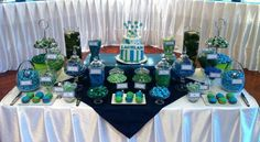 Candy table starting at $10 per person. SDPH #heavensplanningllc