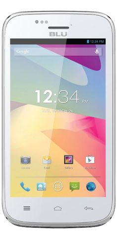 BLU Advance 4.0 Unlocked Dual SIM Phone (White)