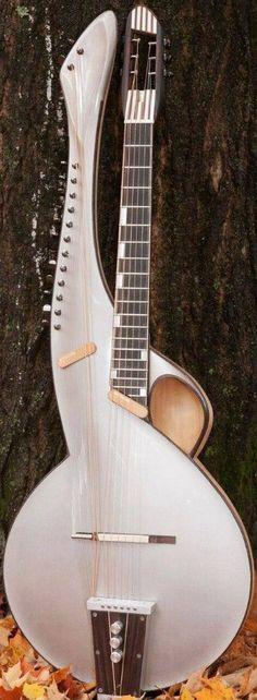 Thierry Andre 2015 Harp Guitar --- https://www.pinterest.com/lardyfatboy/