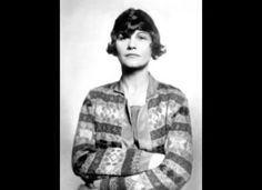 """Coco Chanel, 1923  Designs by Gabrielle """"Coco"""" Chanel epitomised 1920s fashion, with her tailored suits and caridigan jackets."""