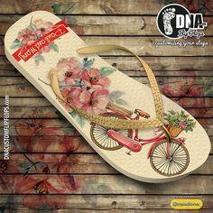 Customizationof GRENDENE / IPANEMA flip flops is the core business of DNA…