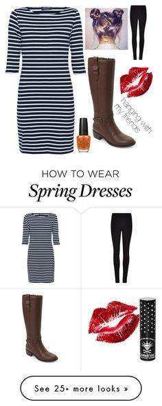 """""""My outfit"""" by gustavia5347 on Polyvore featuring Saint James, Cole Haan, Manic Panic NYC, OPI and Winser London"""