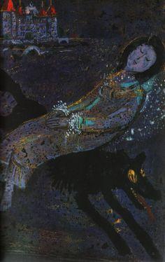 Bernhard Nast illustration from Fairy Tales by Hans Christian Andersen,1972