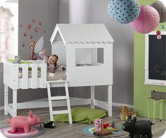 Lit Cabane Woody Wood DAlinéa Chambre Enfant Bébé Pinterest - Lit cabane petit garcon