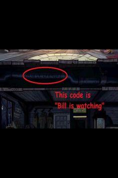 Gravity Falls Hidden Codes