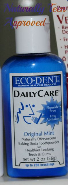 Review: Eco-Dent DailyCare Tooth powder – Naturally Teen Approved